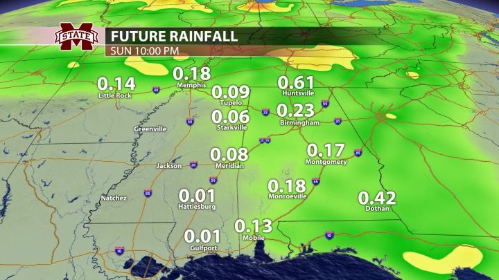 Rainfall - 24 Hours