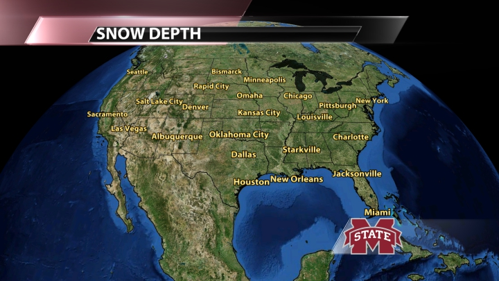 US Snow Depth
