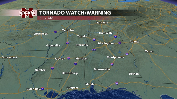 Tornado Watches and Warnings